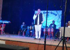 संगीत संघ्या का शानदार आयोजन, रविंद्र सिंह ने बढाया मनोबल।